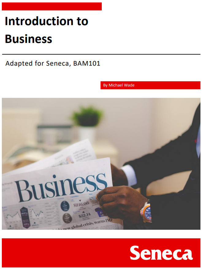 Cover image for Introduction to Business