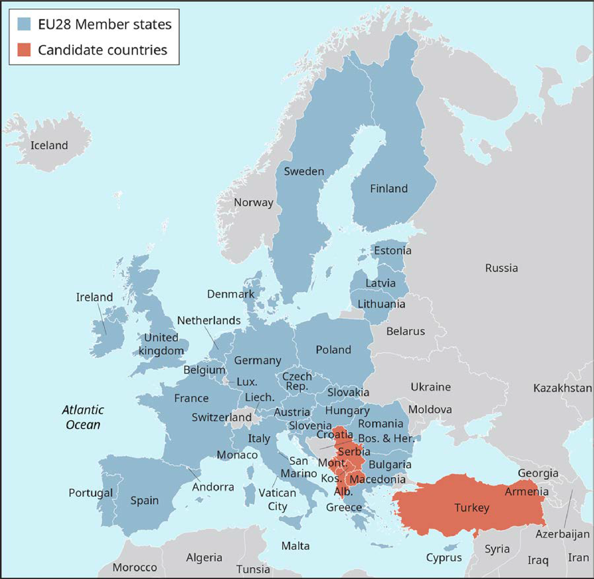 Exemplu 3.2 Uniunea Europeană Sursa: Adaptat de la https://europa.eu/european-union/about-eu/countries/member-countries_en.