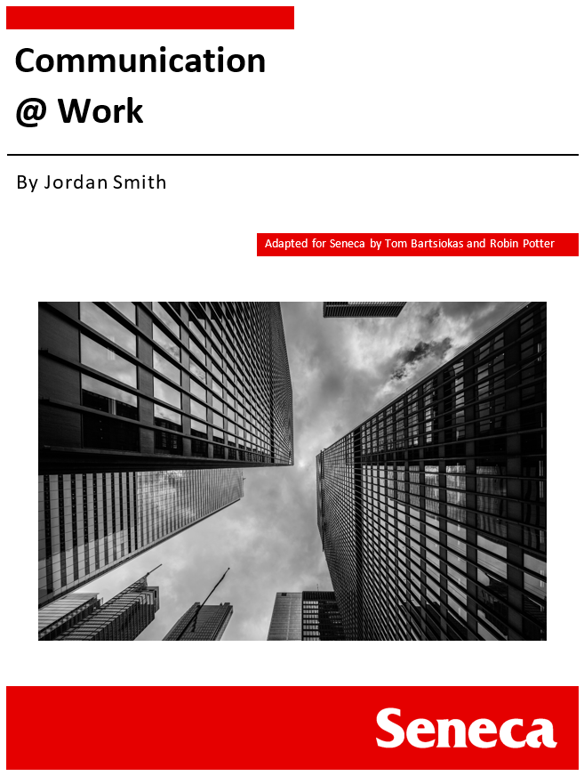Cover image for Communication @ Work