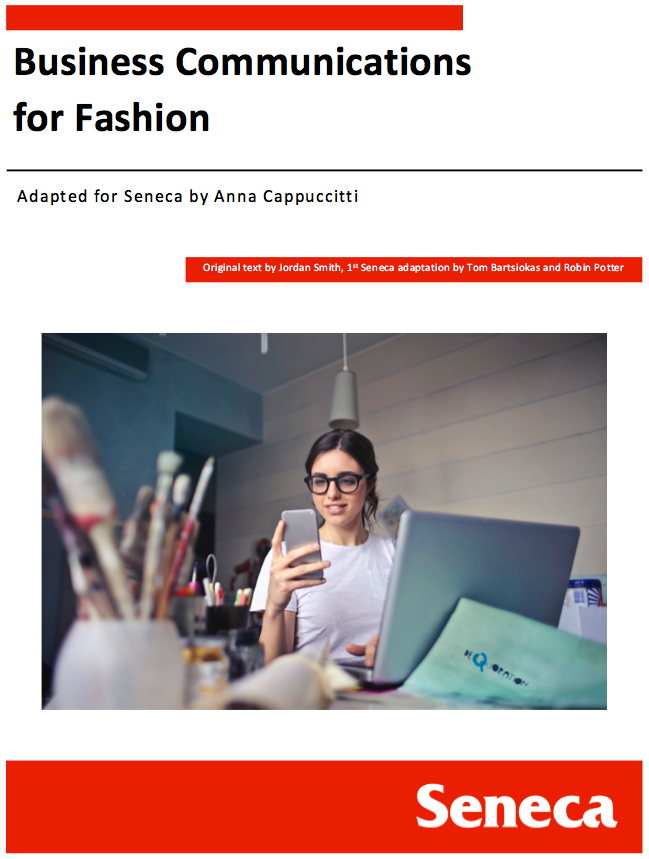 Cover image for Business Communications for Fashion
